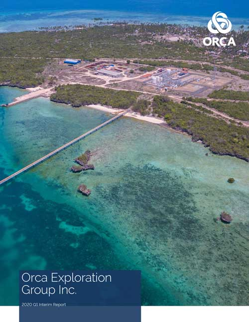 Orca Q1 Interim Report Cover